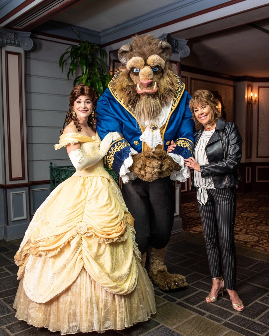 Celebrity Sighting – Paige O'Hara the Voice of Belle from Beauty and the Beast at Epcot