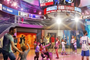 New Artist Renderings, Details and Activities Revealed for NBA Experience at Disney Springs
