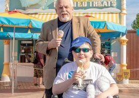 John Ratzenberger visits Make-A-Wish Kid