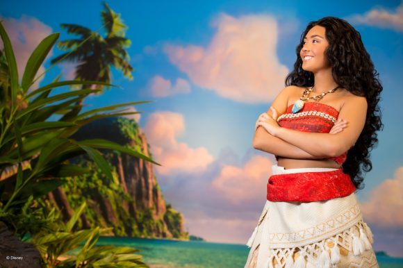 Moana Disney character meet and greet