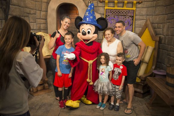 Mickey Mouse Meet and Greet at Disney World