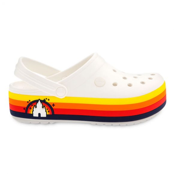 Wear it proud platform crocs