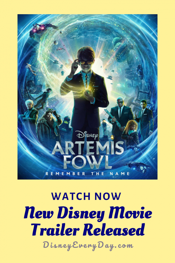 A new Artemis Fowl movie trailer was released March 2, 2020
