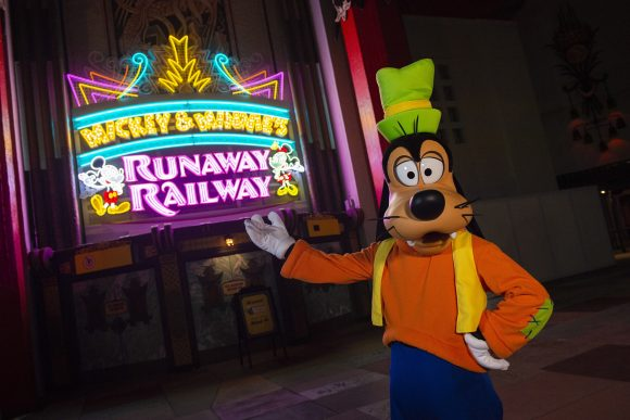 Mickey & Minnie's Runaway Railway Dedication is scheduled for March 3, 2020