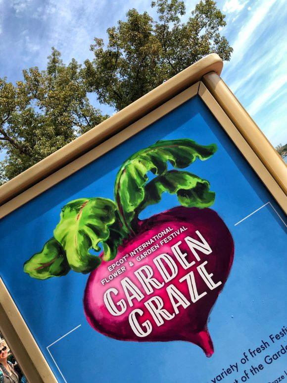 Garden Graze at the 2020 epcot flower and garden festival at Walt Disney World in Orlando, Florida