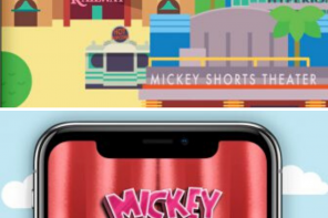 A new game in the Play Disney Parks App is called Mickey & Minnie's Trivia Time