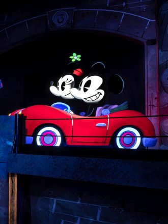 Mickey and Minnie's Runaway Railway Easter Eggs are fun to look for in the new ride at Disney's Hollywood Studios