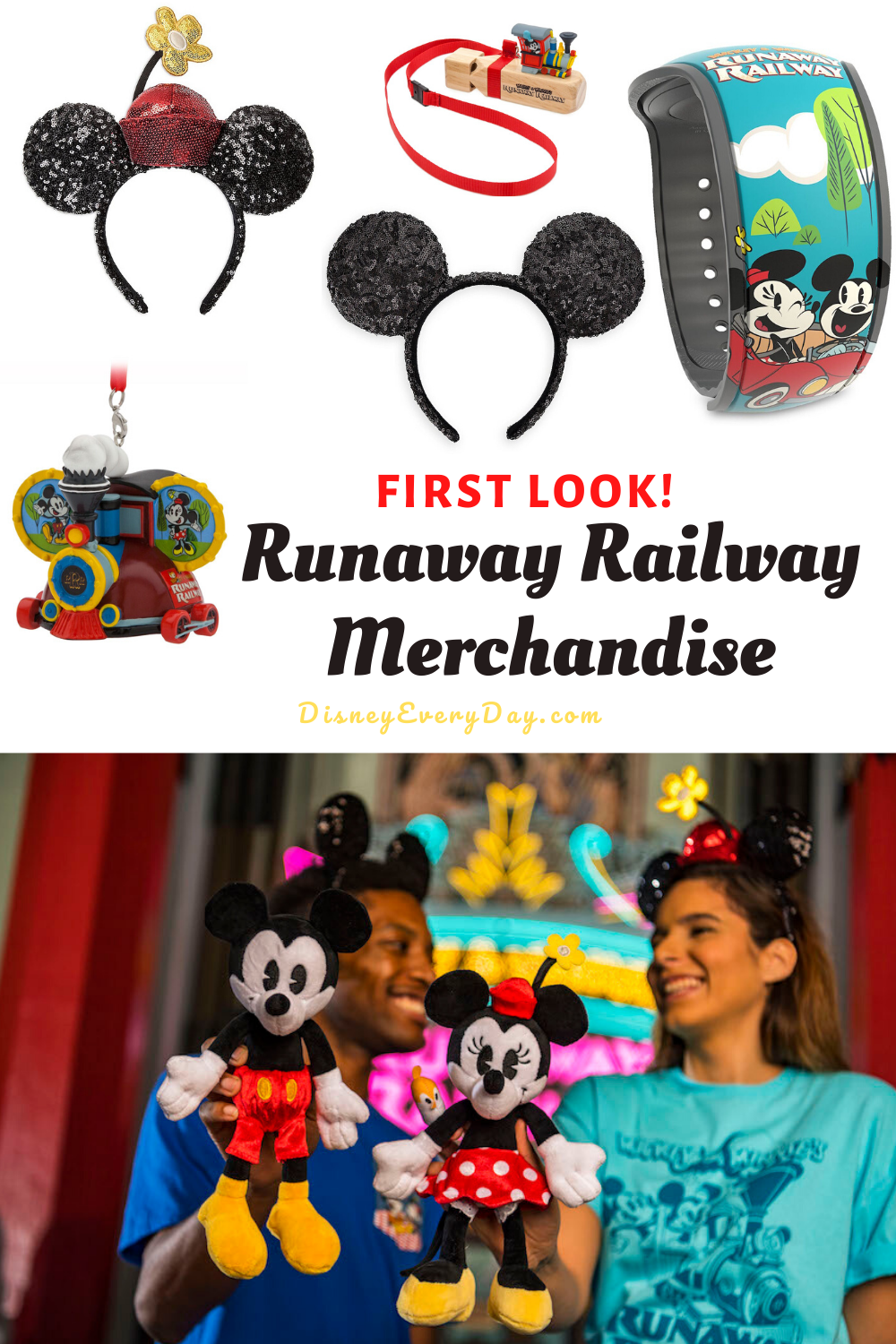 A new collection of Mickey and Minnie merchandise has been released to coincide with the opening of the new Mickey Mouse attraction at Walt Disney World.