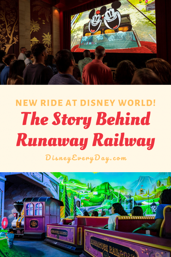 The Story of Mickey and Minnie's Runaway Railway at Disney's Hollywood Studios