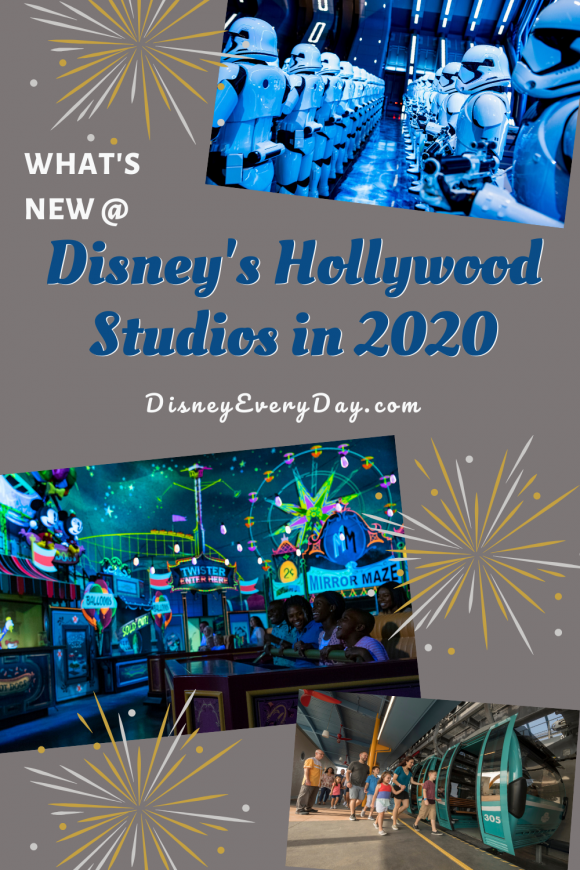 What's New at Disney's Hollywood Studios in 2020