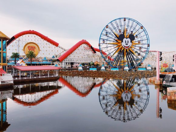 Disney's California Adventure theme park in Anaheim, California at Disneyland Resort