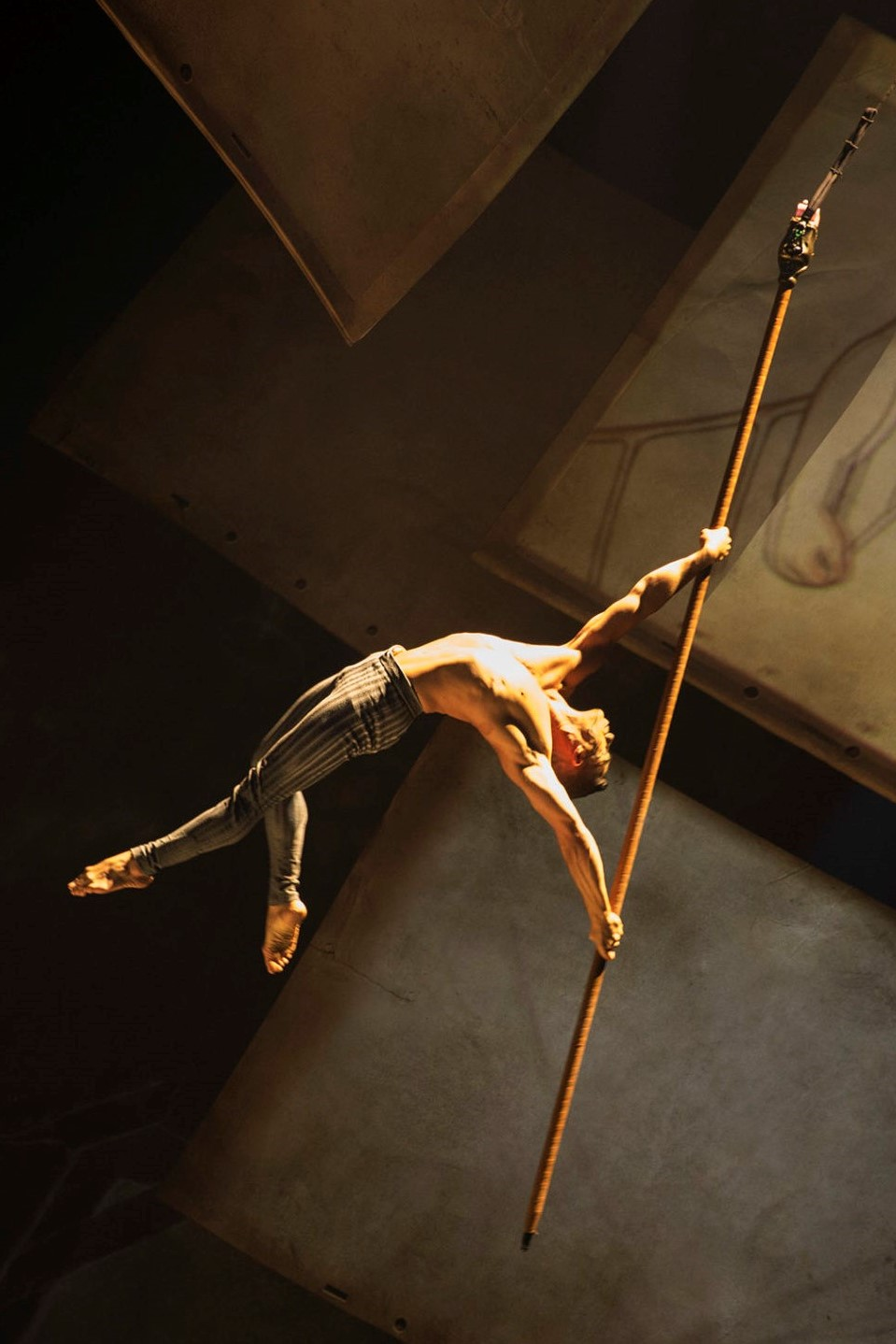 The new Cirque du Soleil show at Disney Springs is called Drawn to Life