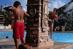 The pool at Disney's Coronado Springs Resort at Walt Disney World in Orlando, Florida
