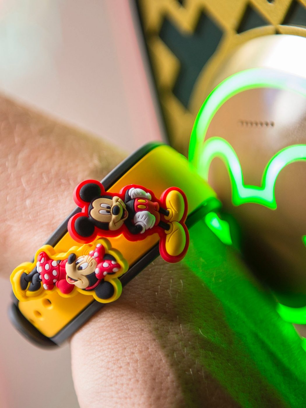 Walt Disney World magic bands store your ticket information and more